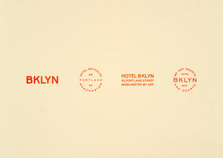 Brooklyn logos red